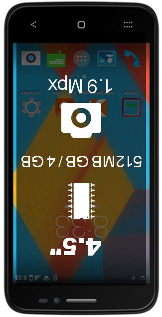 Texet X-quad smartphone