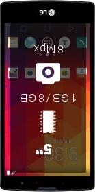 LG Magna Single SIM smartphone