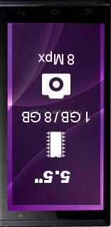 Leotec Titanium S155b smartphone