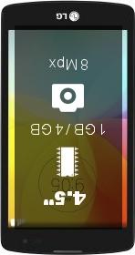 LG L Fino D290N smartphone