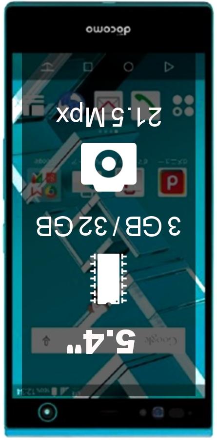 Fujitsu Arrows NX F-02H smartphone