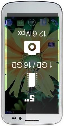 UMI X2 1GB 16GB smartphone