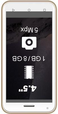 Zen Admire SXY smartphone