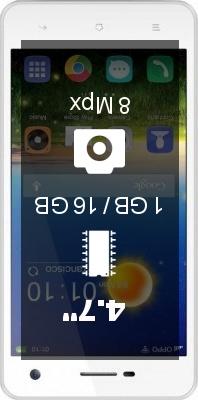 Oppo Mirror R819 smartphone