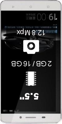 Gionee Marathon M5 Dual SIM smartphone