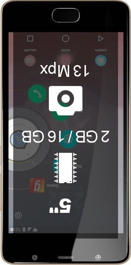 Panasonic Eluga Ray smartphone