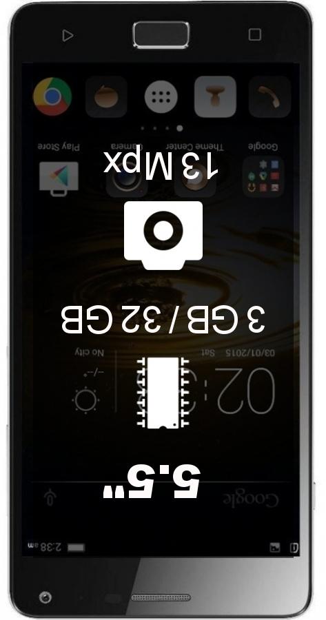 Lenovo Vibe P1 Turbo smartphone