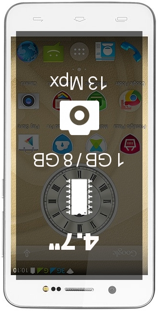 Prestigio Grace X5 smartphone