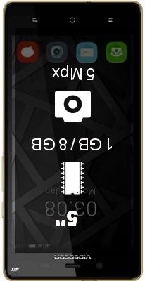 Videocon Krypton V50FA smartphone