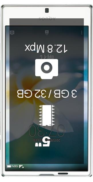 Sharp Aquos Serie SHV32 smartphone