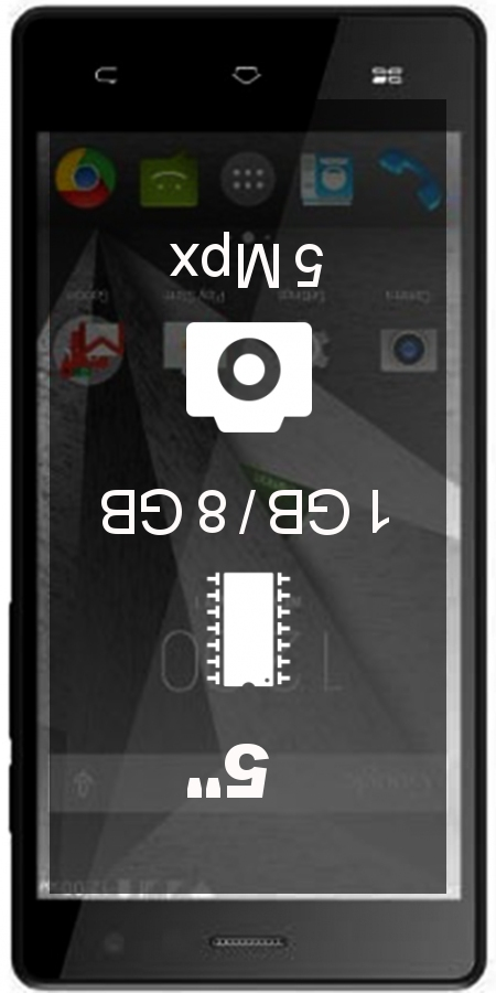 Gigabyte GSmart Mika MX smartphone