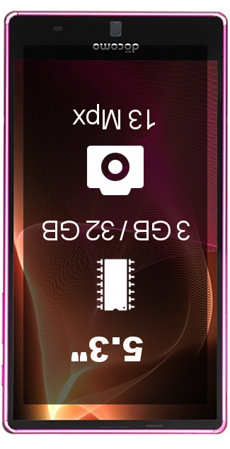 Sharp Aquos Zeta SH-01H smartphone