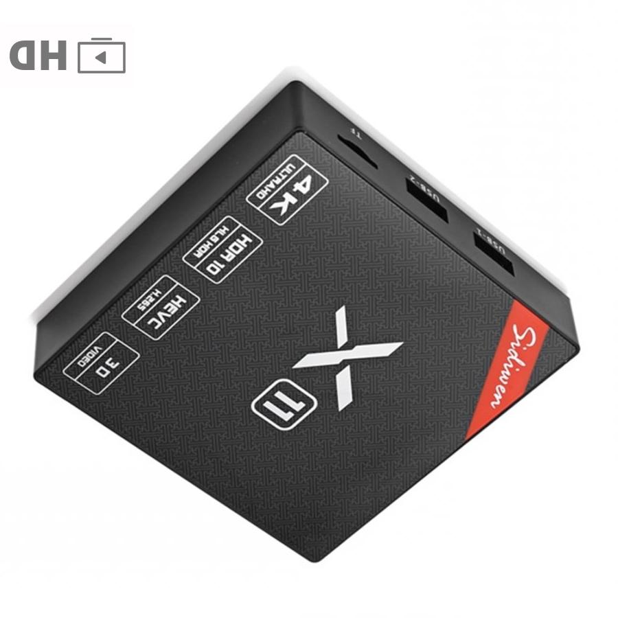 Sidiwen X11 2GB 16GB TV box