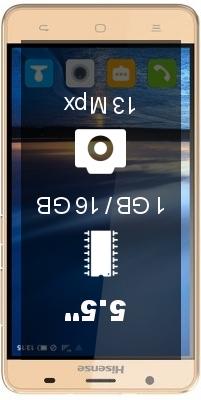 HiSense U989 Pro smartphone