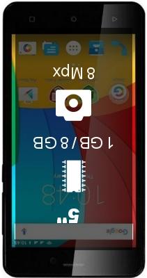 Prestigio Wize P3 smartphone