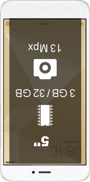 Xiaomi Redmi 4X 3GB 32GB smartphone
