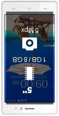 Lava A89 smartphone