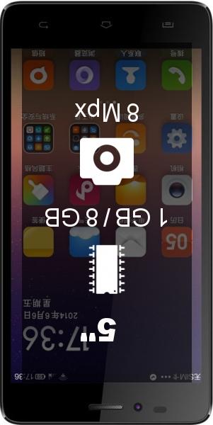 Landvo L500 smartphone