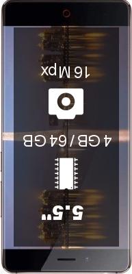 ZTE Nubia Z11 4GB 64GB smartphone