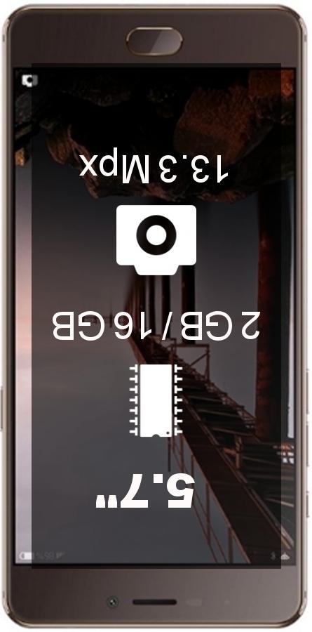 Elephone P8 Dual SIM smartphone
