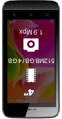 Intex Aqua 4.0 4G smartphone