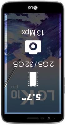 LG K10 Pro M400DF smartphone