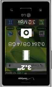 LG Optimus Zone smartphone