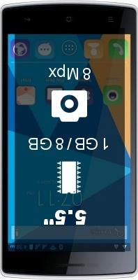 DOOGEE Kissme DG580 smartphone