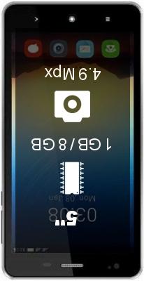 Videocon Krypton V50DA smartphone