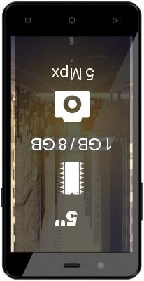 Digma Citi Z540 4G smartphone