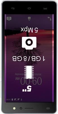 Lava A72 smartphone