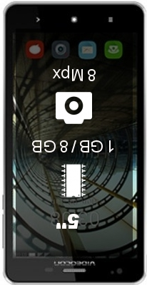 Videocon Krypton V50DC smartphone