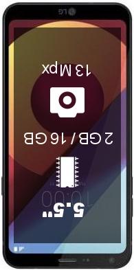 LG Q6a smartphone