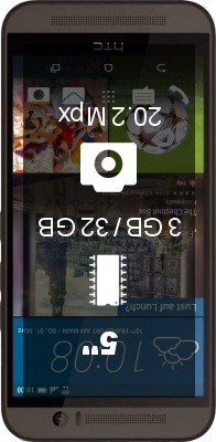 HTC One (M9) 32GB smartphone
