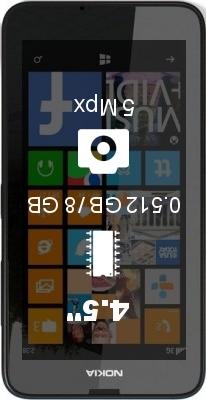 Nokia Lumia 630 SIM cards smartphone