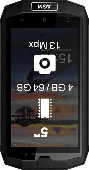 AGM A1Q 4GB 64GB smartphone