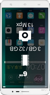 Vivo Xplay 3S smartphone