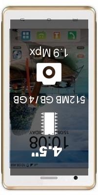 Intex Aqua 4.5 3G smartphone