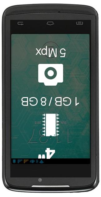 Plum Axe LTE smartphone