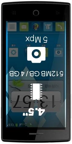 TCL P516L smartphone