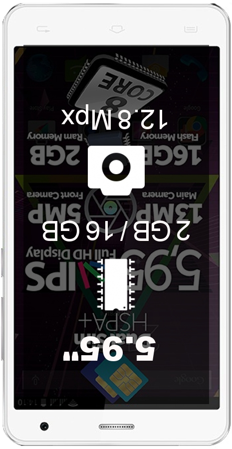 Allview P6 QMax smartphone