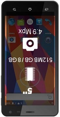 Texet TM-5003 smartphone