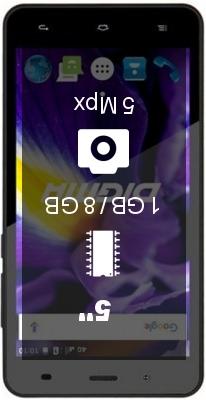Digma Vox S506 4G smartphone