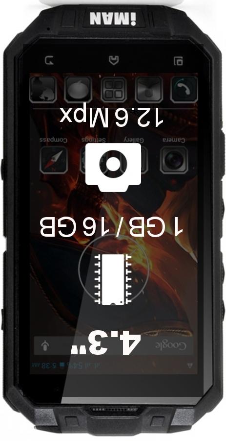 IMAN i3 smartphone