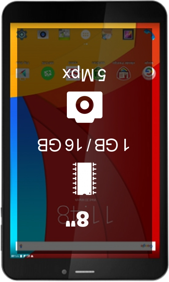 Prestigio MultiPad Wize 3407 4G tablet
