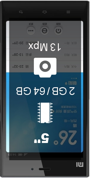 Xiaomi Mi3 64GB smartphone