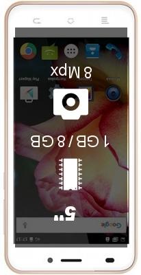 Texet TM-5017 smartphone