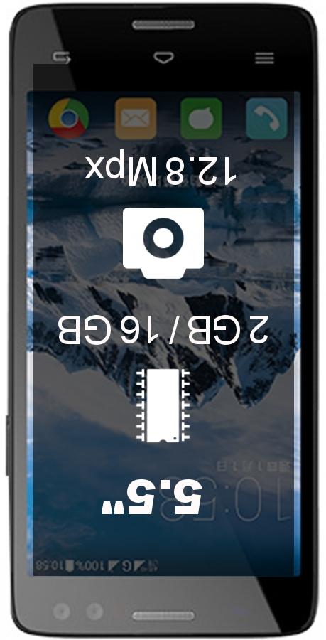 InFocus M535 smartphone