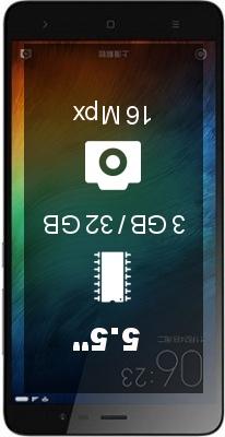 Xiaomi Redmi Note 3 Pro Special edition 3GB 32GB smartphone