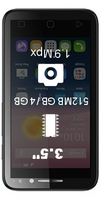 Alcatel Pixi 4 (3.5) smartphone